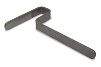 "(D) 8"" Upright Support Bar"