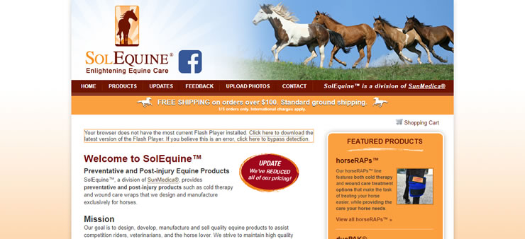 SolEquine Website